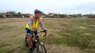 Amarillo is not a particularly bike-friendly city, so Carsten and I took some creative shortcuts.